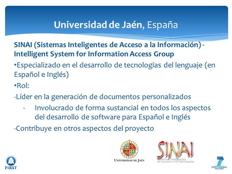 Universidad de Jaén, España