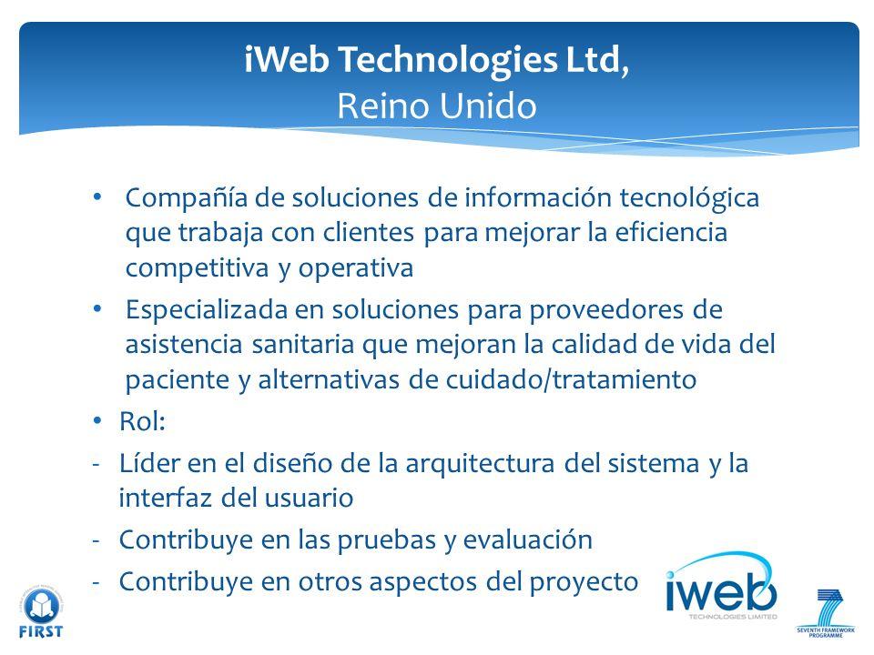 iWeb Technologies Ltd, Reino Unido