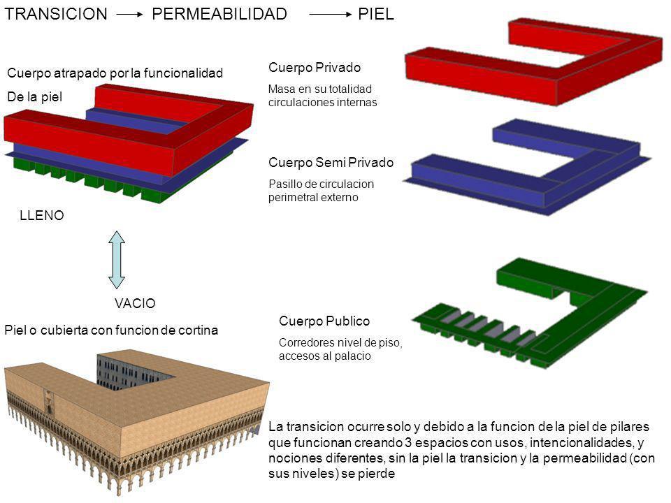 TRANSICION PERMEABILIDAD PIEL Cuerpo Privado