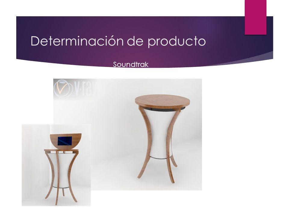 Determinación de producto