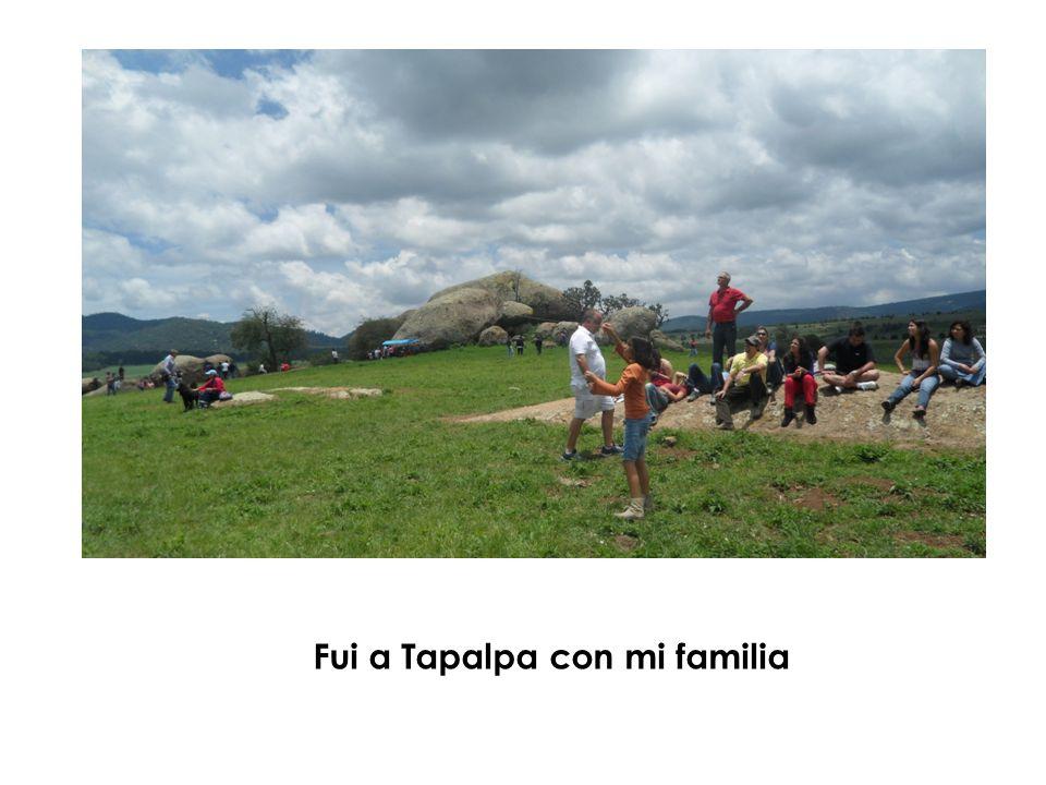 Fui a Tapalpa con mi familia