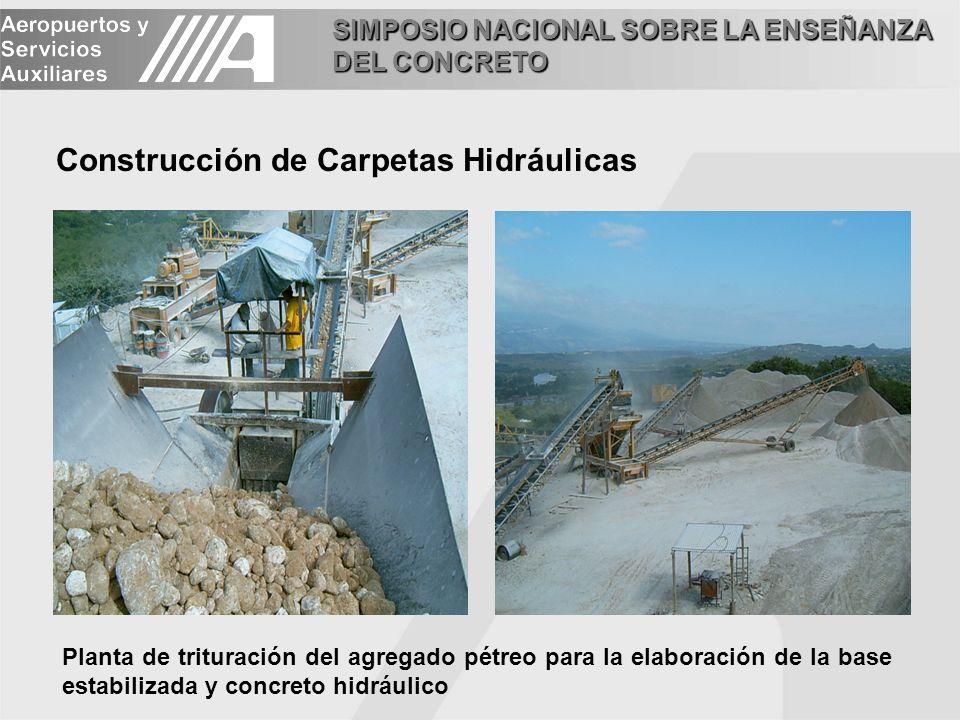 Construcción de Carpetas Hidráulicas