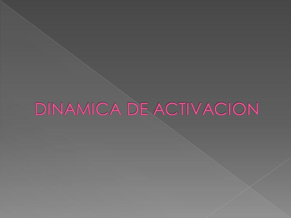 DINAMICA DE ACTIVACION