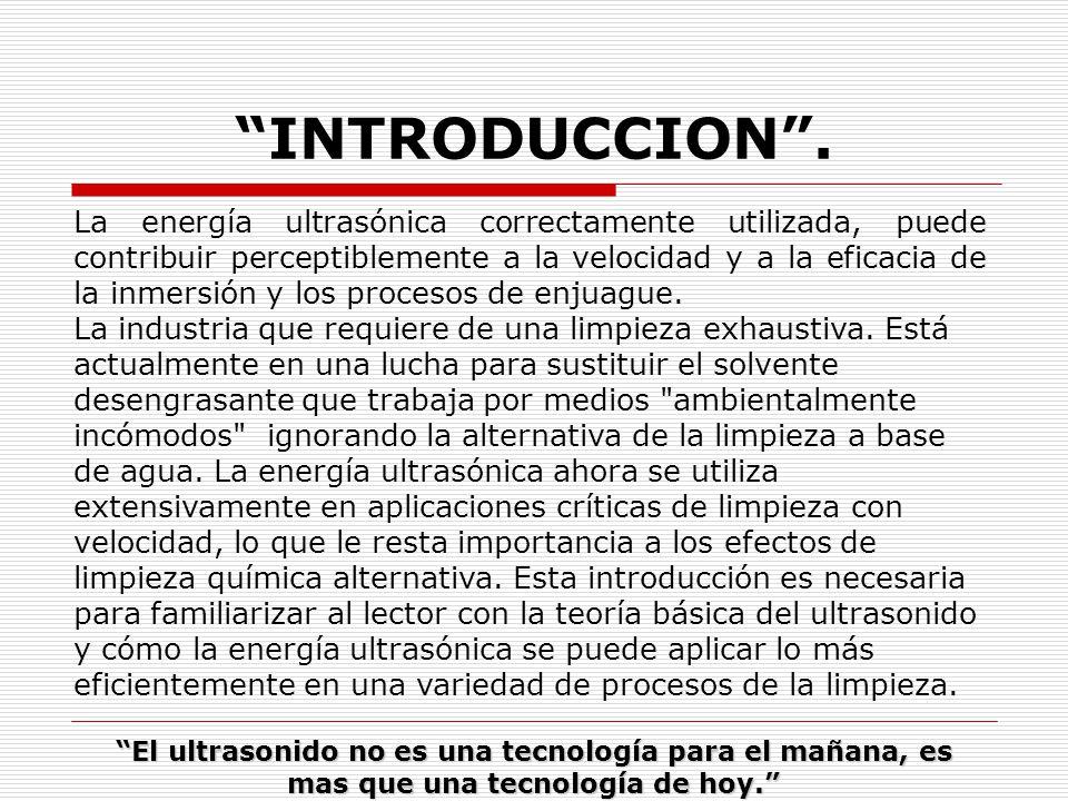 INTRODUCCION .