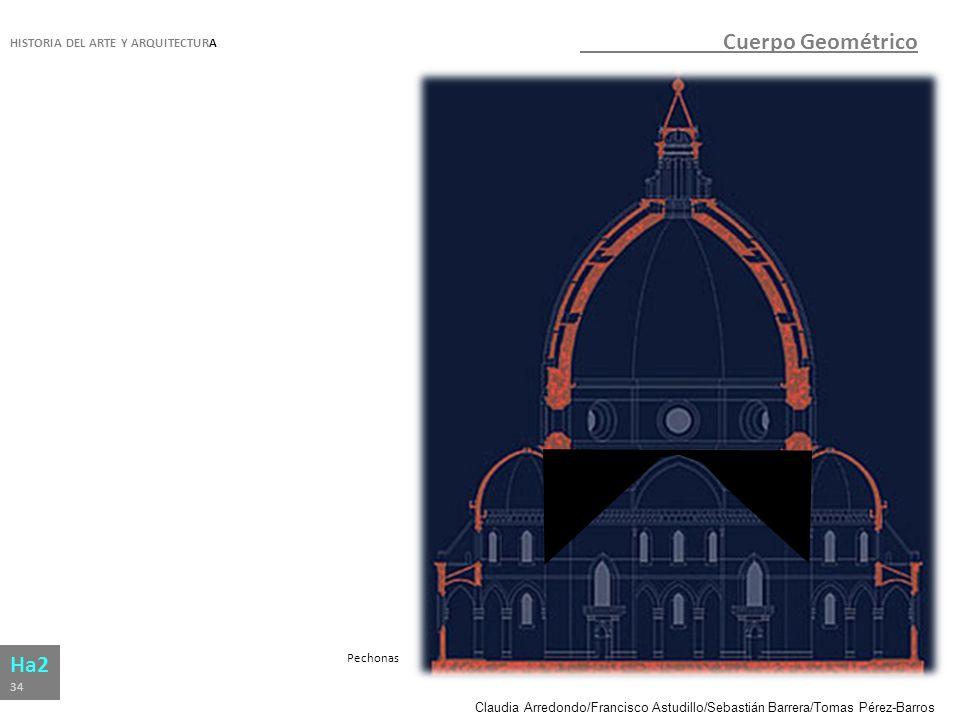Cuerpo Geométrico Ha2 HISTORIA DEL ARTE Y ARQUITECTURA Pechonas 34