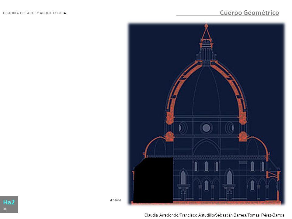 Cuerpo Geométrico Ha2 HISTORIA DEL ARTE Y ARQUITECTURA Abside 36