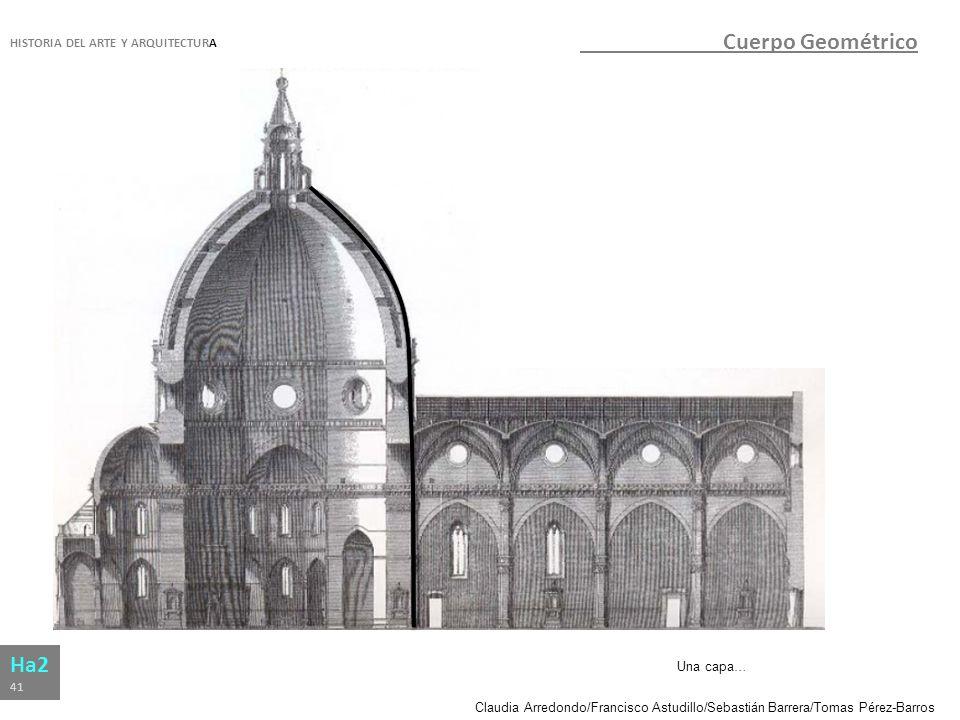 Cuerpo Geométrico Ha2 HISTORIA DEL ARTE Y ARQUITECTURA Una capa… 41