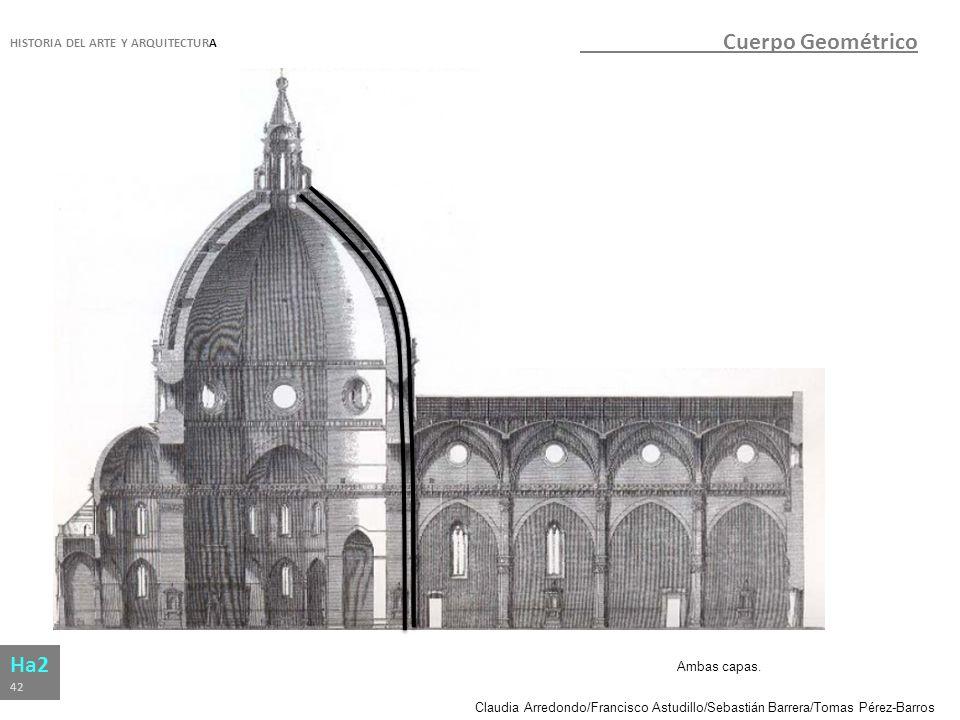 Cuerpo Geométrico Ha2 HISTORIA DEL ARTE Y ARQUITECTURA Ambas capas. 42