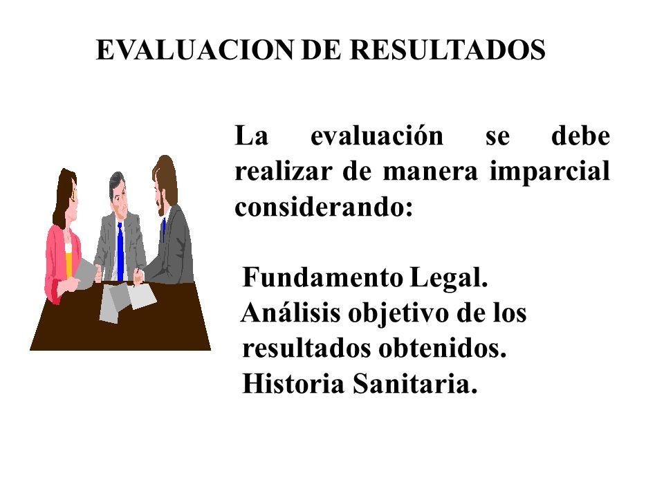 EVALUACION DE RESULTADOS