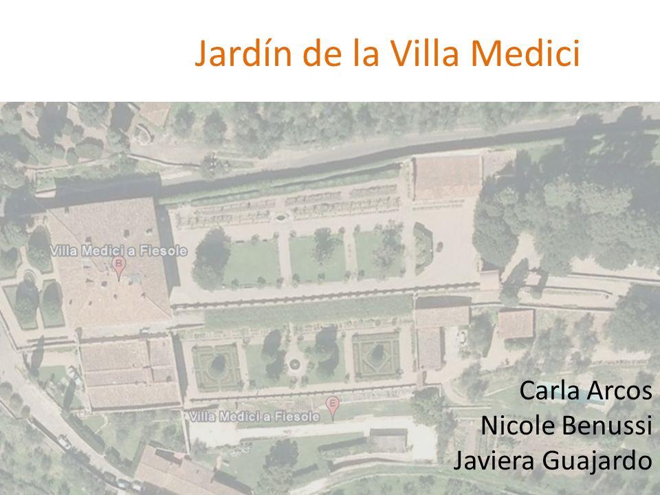 Jardín de la Villa Medici