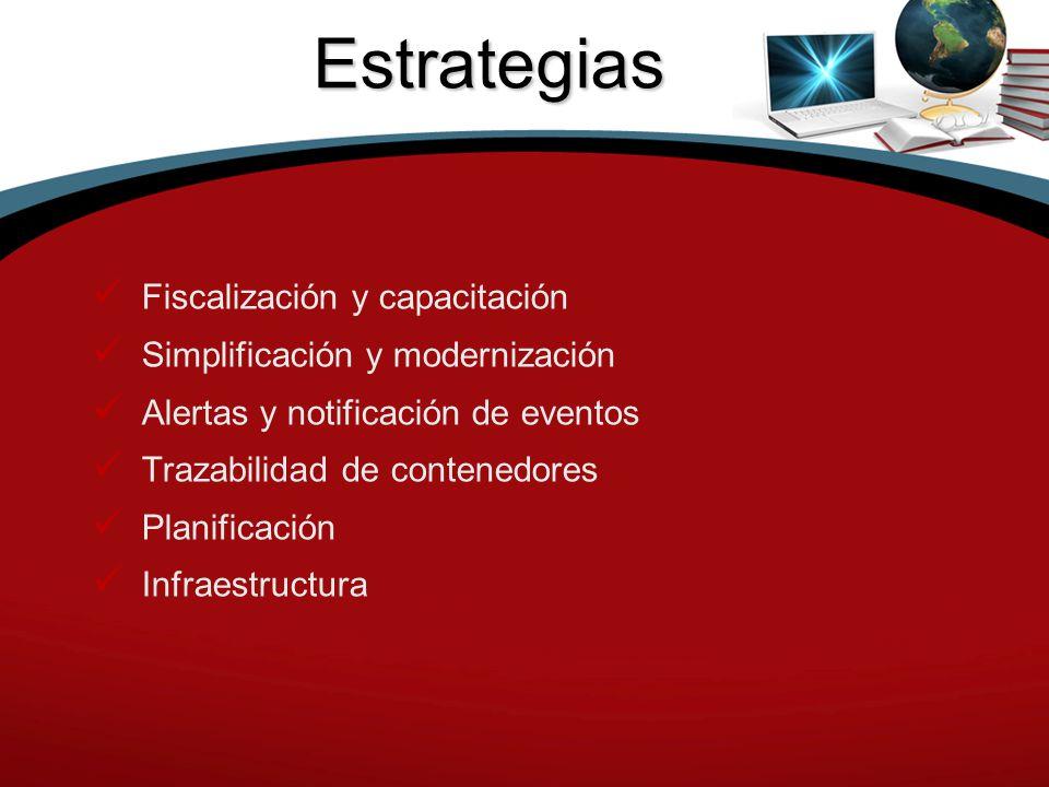 Estrategias Fiscalización y capacitación