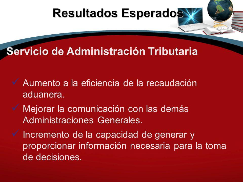 Resultados Esperados Servicio de Administración Tributaria