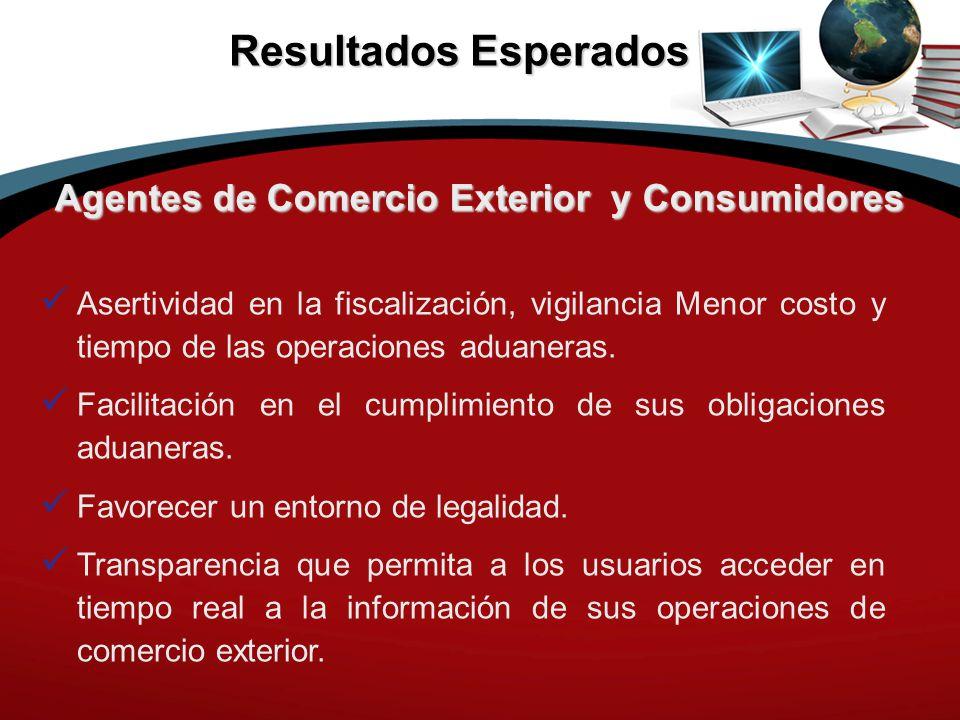 Agentes de Comercio Exterior y Consumidores
