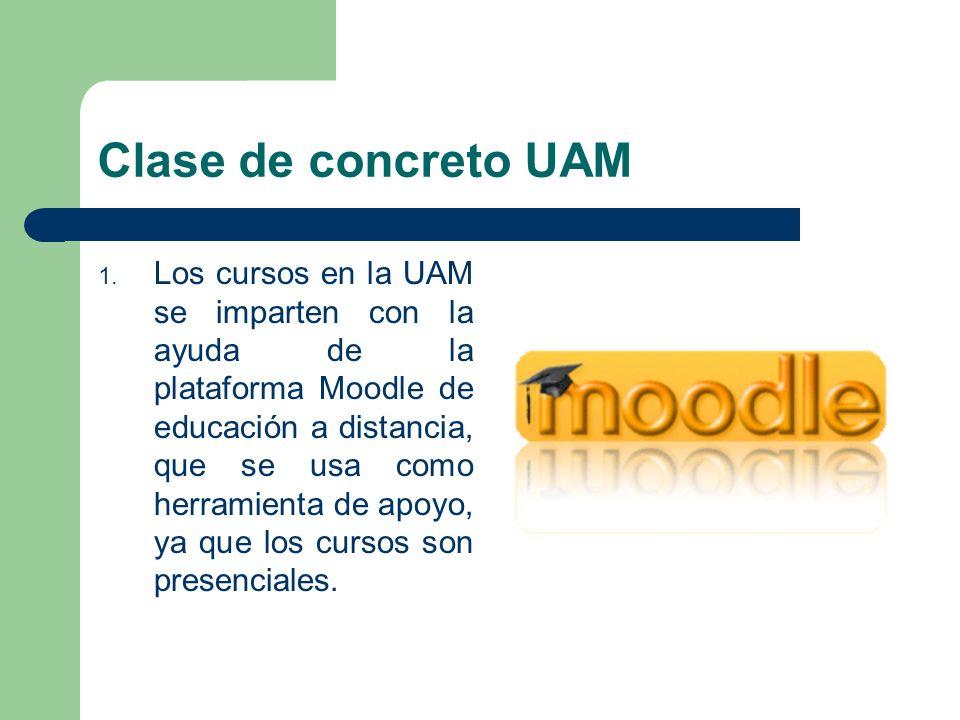Clase de concreto UAM