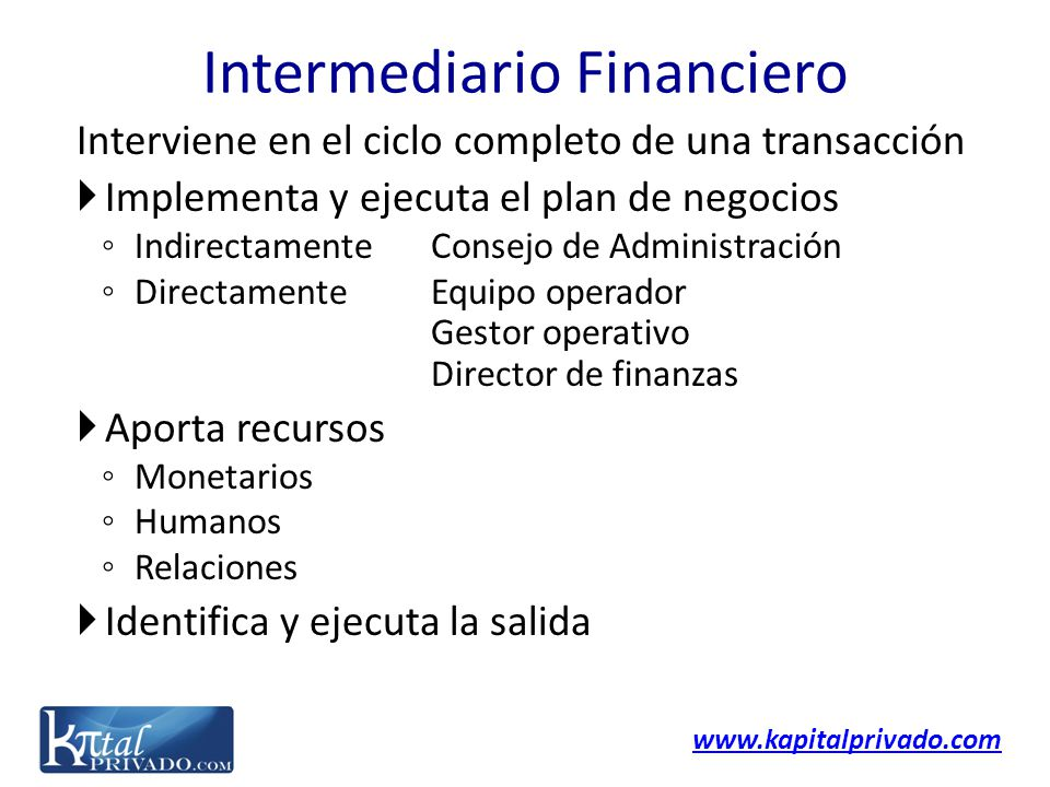 Intermediario Financiero