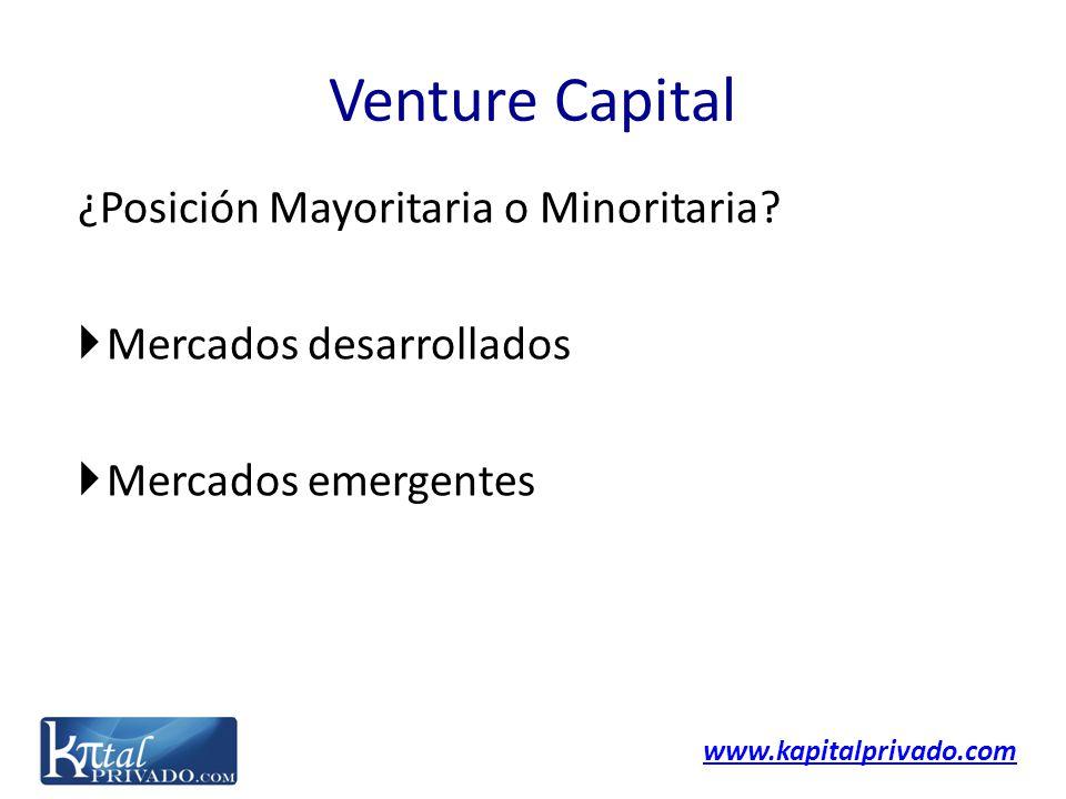 Venture Capital ¿Posición Mayoritaria o Minoritaria