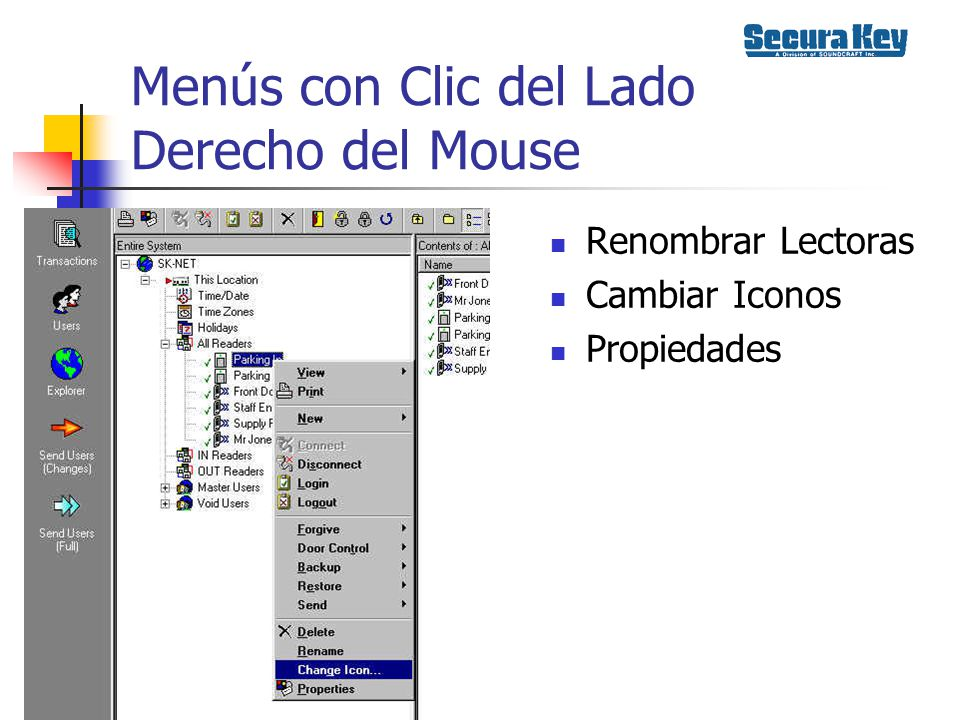 Menús con Clic del Lado Derecho del Mouse