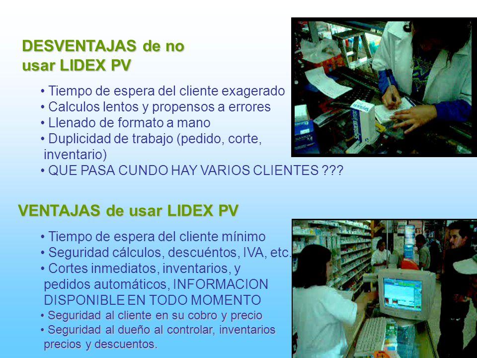 VENTAJAS de usar LIDEX PV