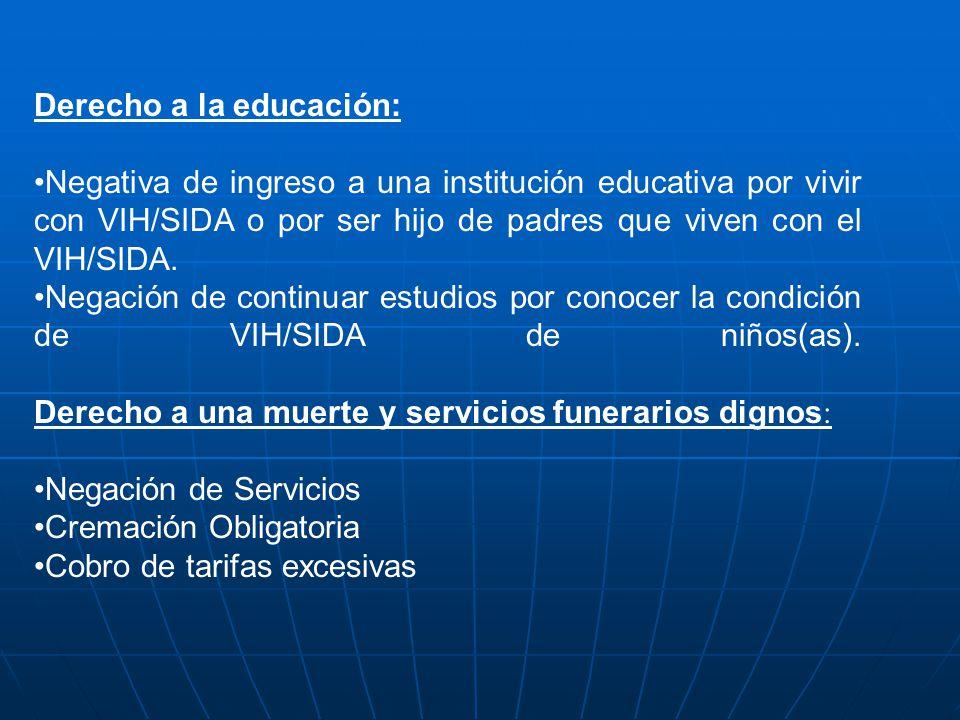 Derecho a la educación: