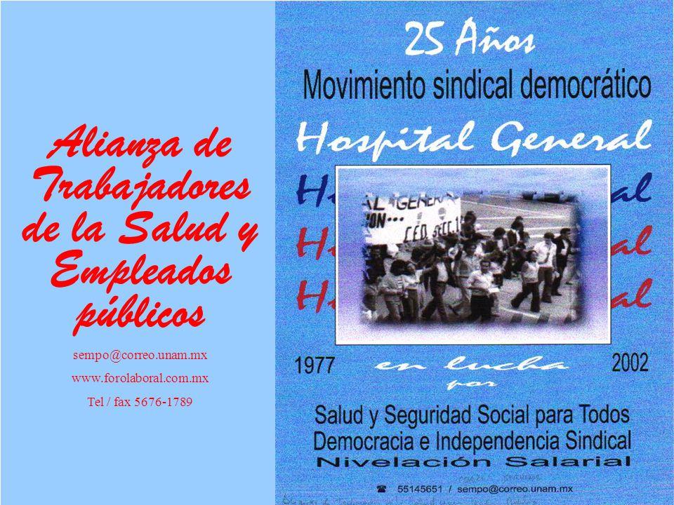 Alianza de Trabajadores de la Salud y Empleados públicos