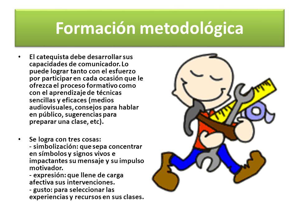 Formación metodológica