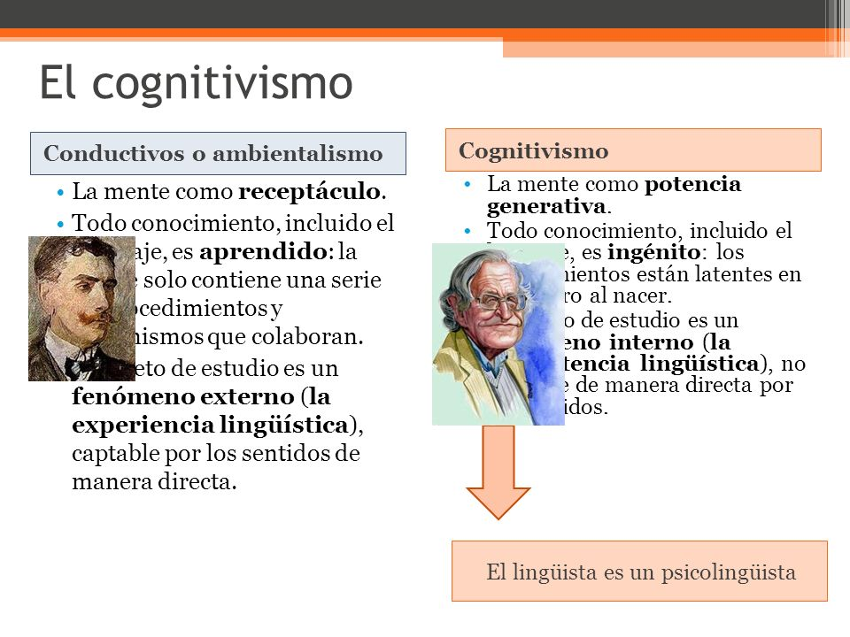 El lingüista es un psicolingüista