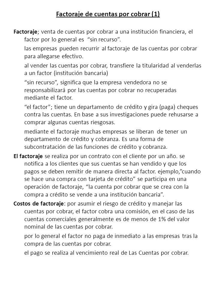 Factoraje de cuentas por cobrar (1)