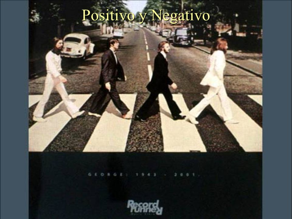 Positivo y Negativo