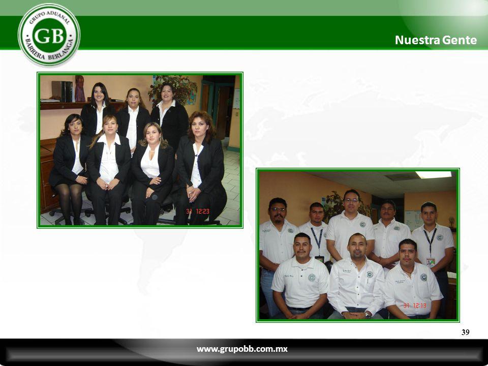 Nuestra Gente 39 www.grupobb.com.mx