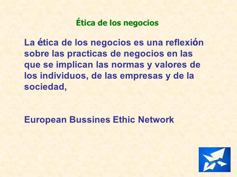 European Bussines Ethic Network