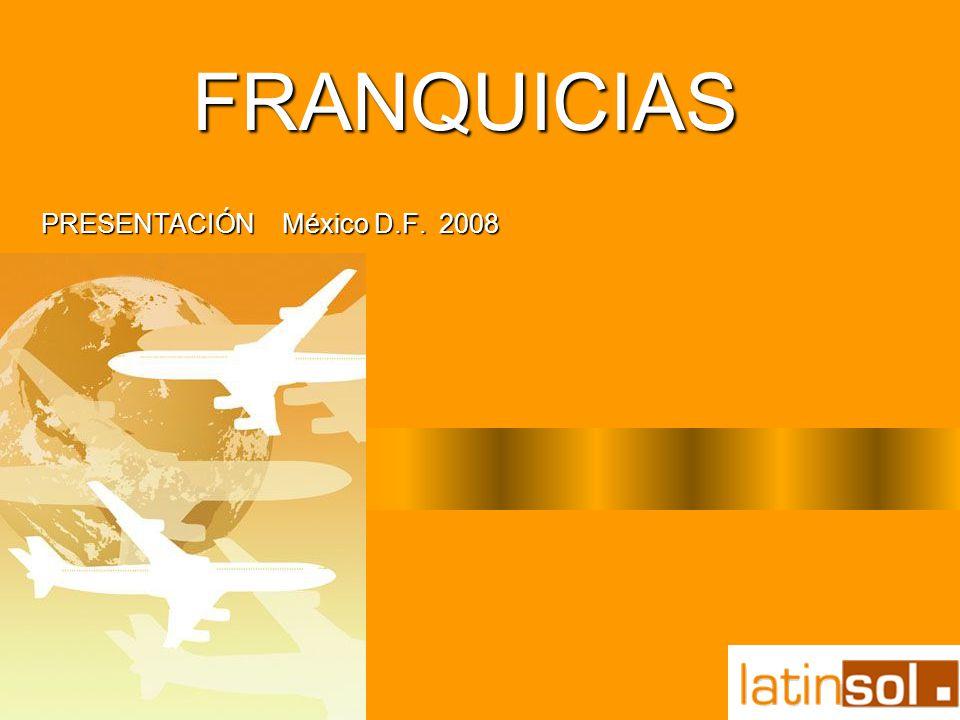 PRESENTACIÓN México D.F. 2008