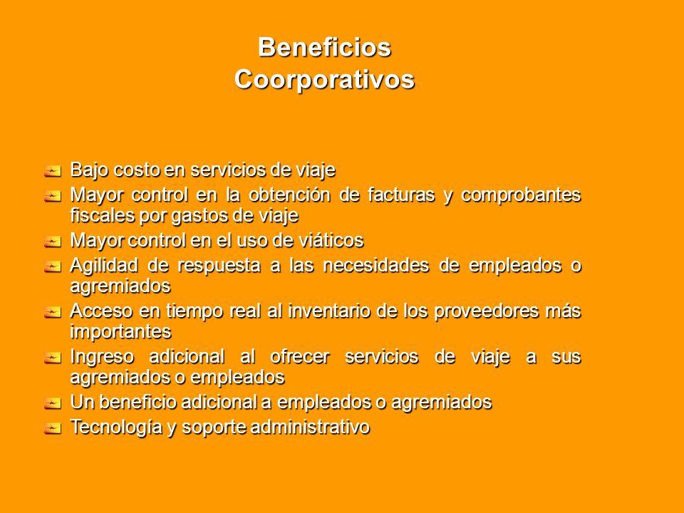 Beneficios Coorporativos