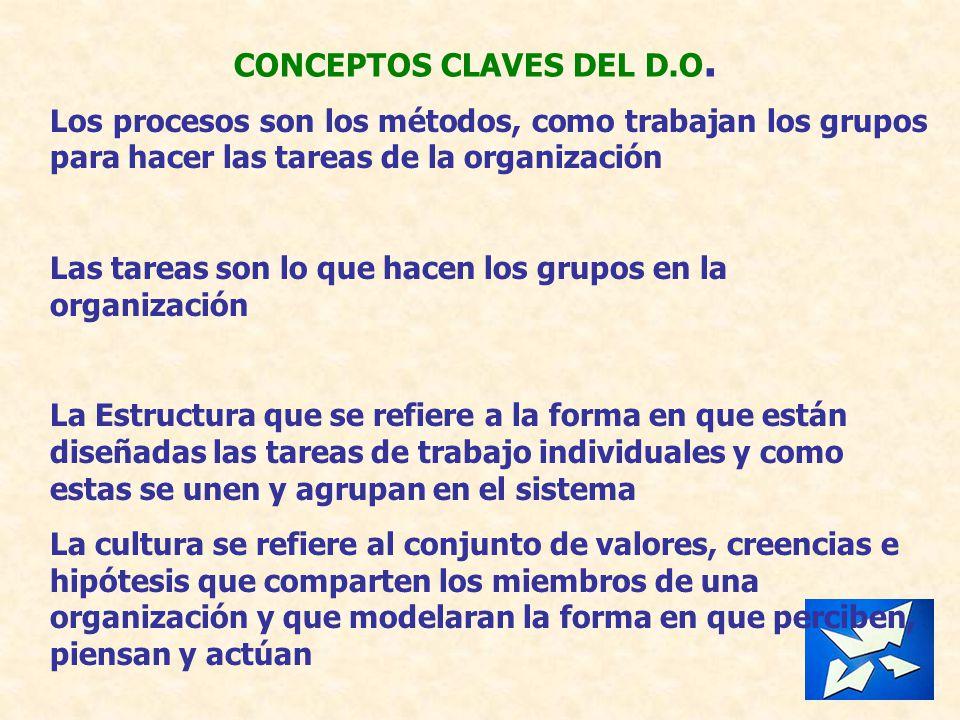 CONCEPTOS CLAVES DEL D.O.