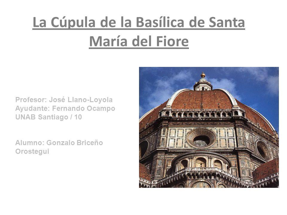 La Cúpula de la Basílica de Santa María del Fiore