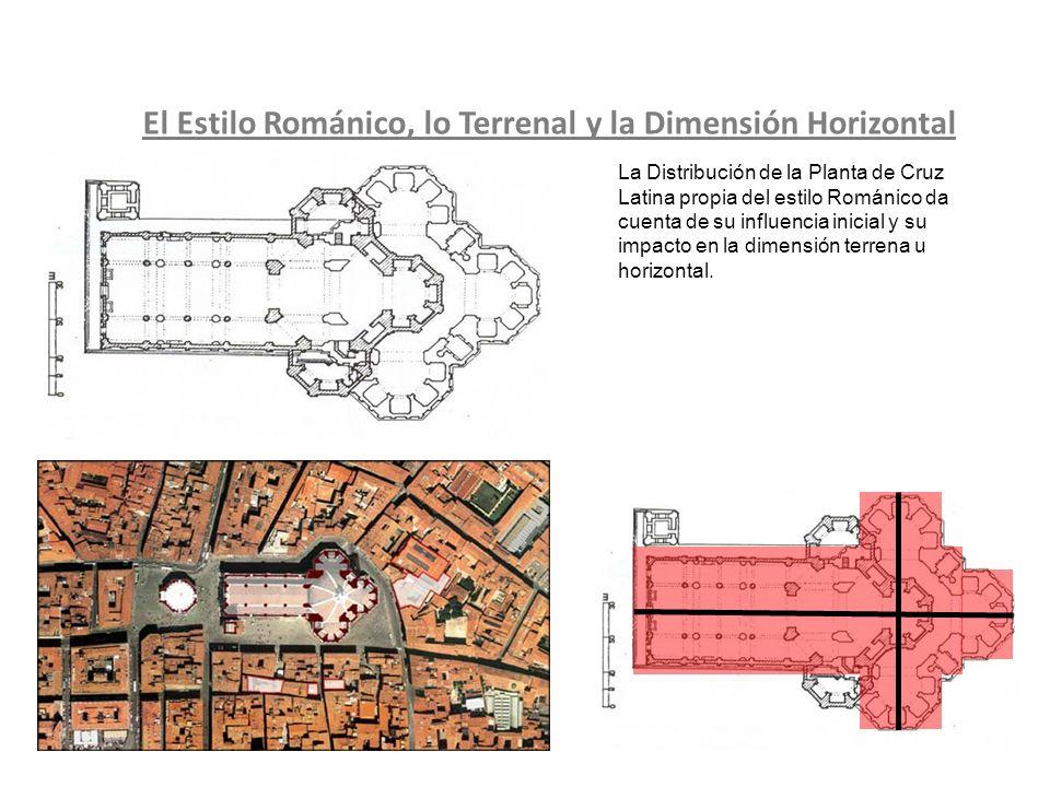 El Estilo Románico, lo Terrenal y la Dimensión Horizontal