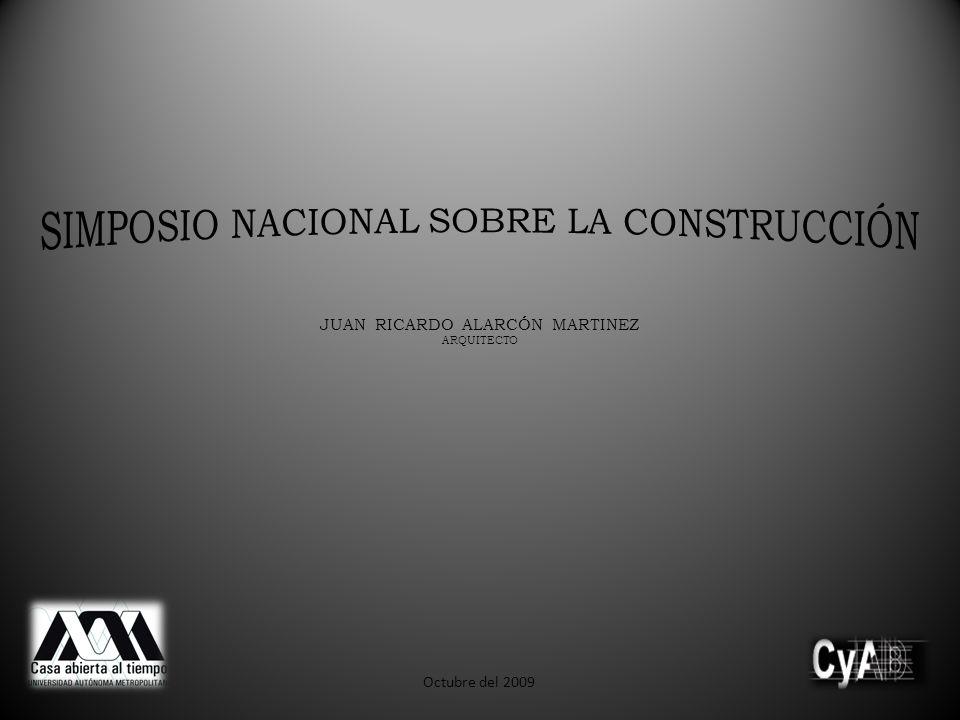 SIMPOSIO NACIONAL SOBRE LA CONSTRUCCIÓN