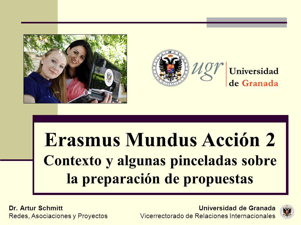Universidad de Granada Vicerrectorado de Relaciones Internacionales