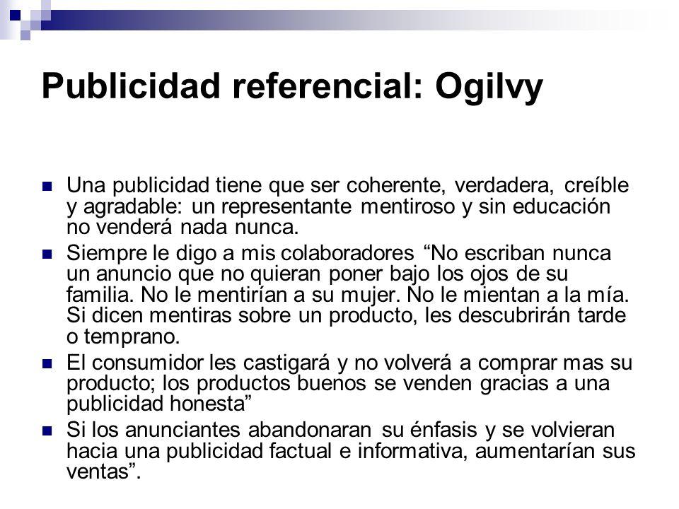 Publicidad referencial: Ogilvy
