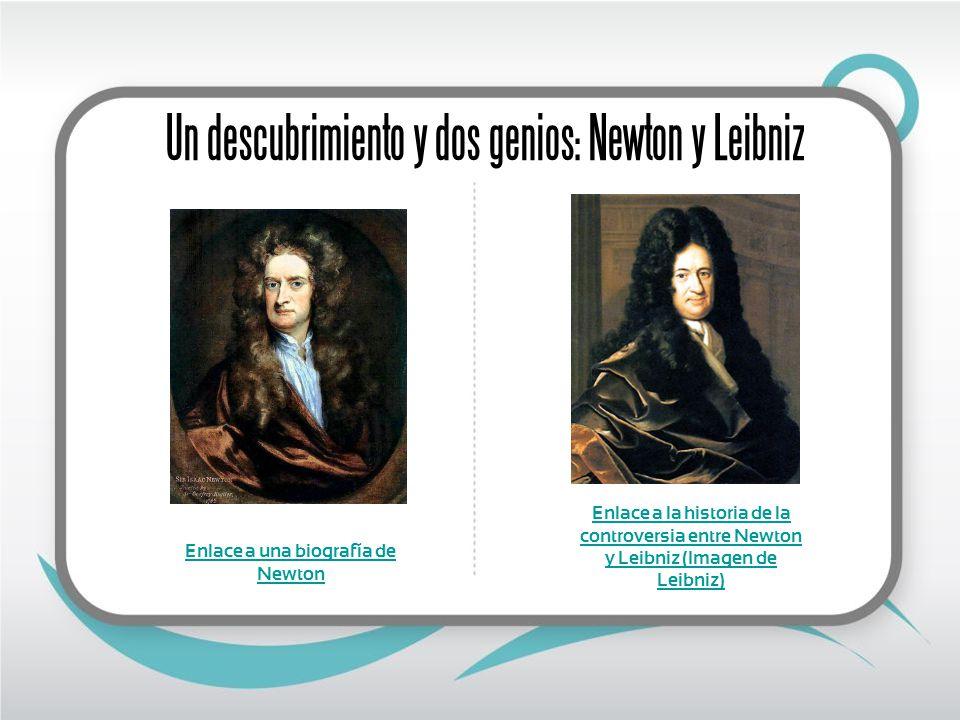 Enlace a una biografía de Newton
