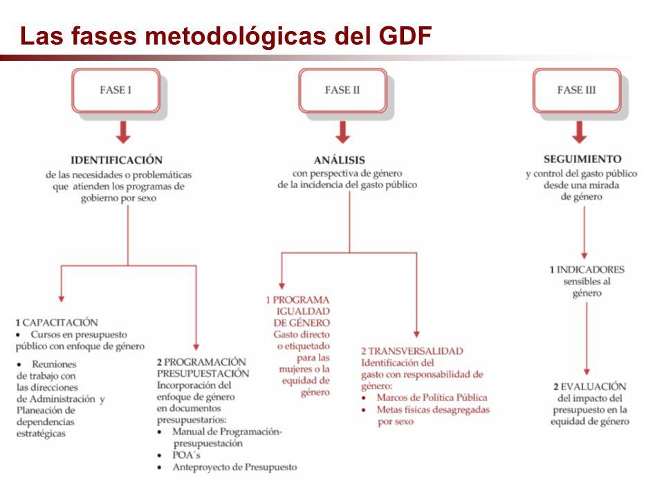 Las fases metodológicas del GDF