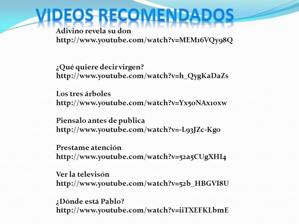 VIDEOS RECOMENDADOS Adivino revela su don