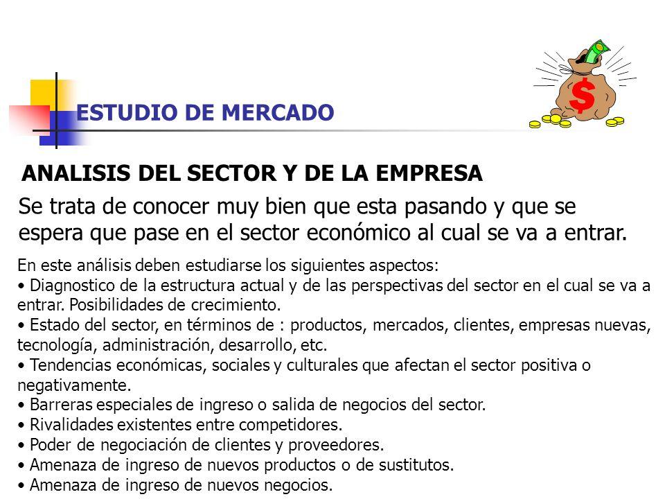 ANALISIS DEL SECTOR Y DE LA EMPRESA