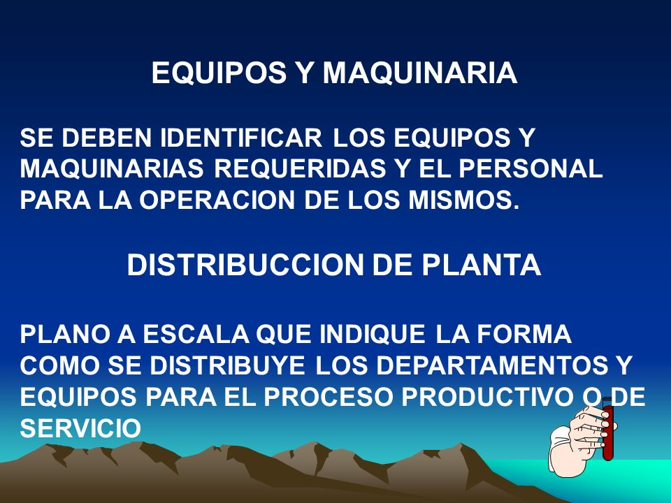 DISTRIBUCCION DE PLANTA