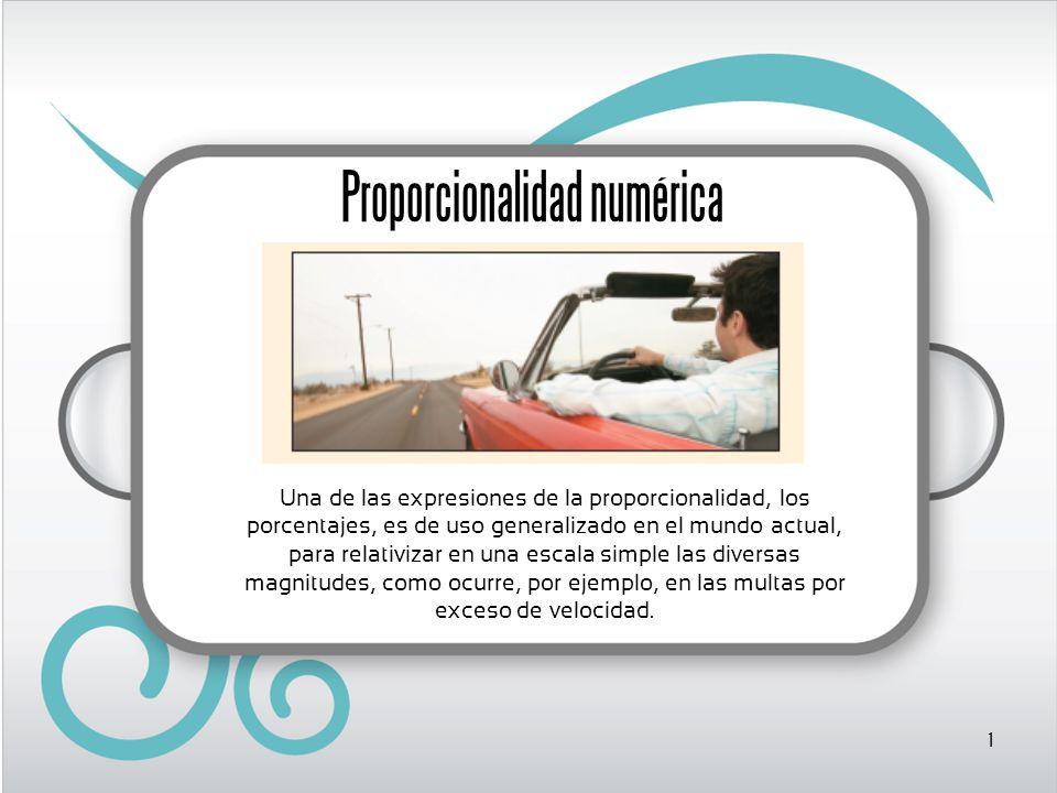 Proporcionalidad numérica