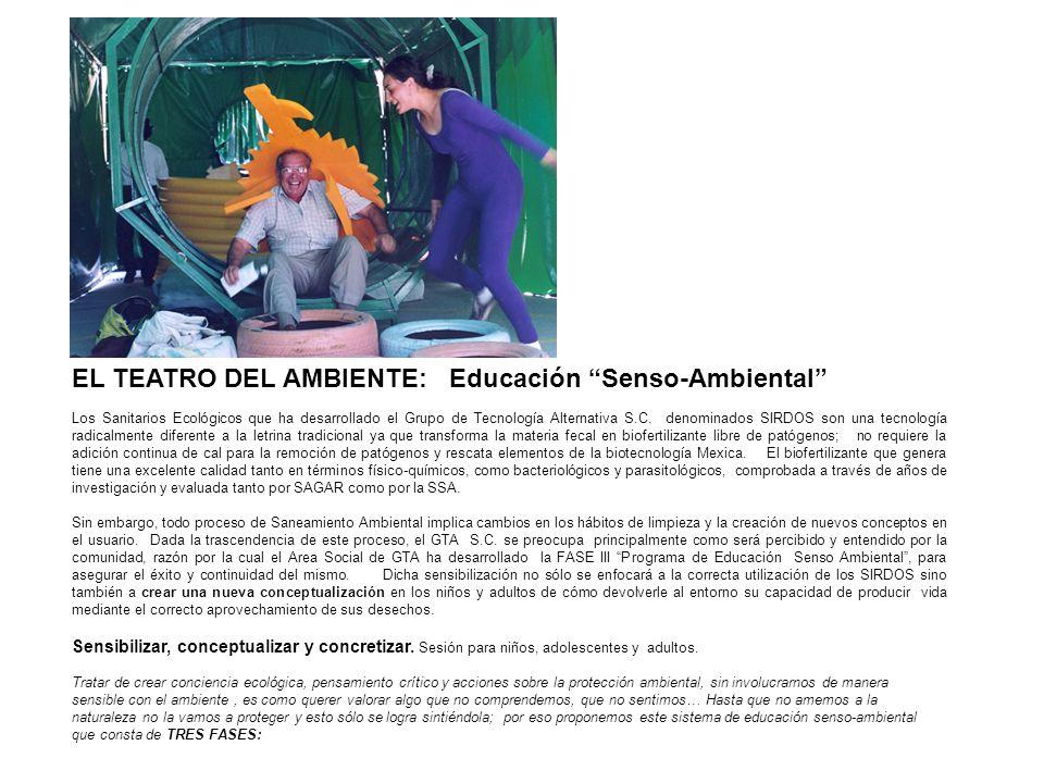 EL TEATRO DEL AMBIENTE: Educación Senso-Ambiental