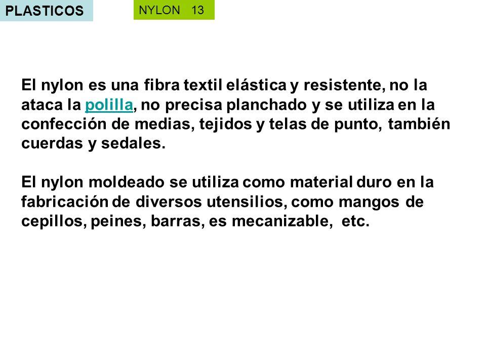 PLASTICOS NYLON 13.