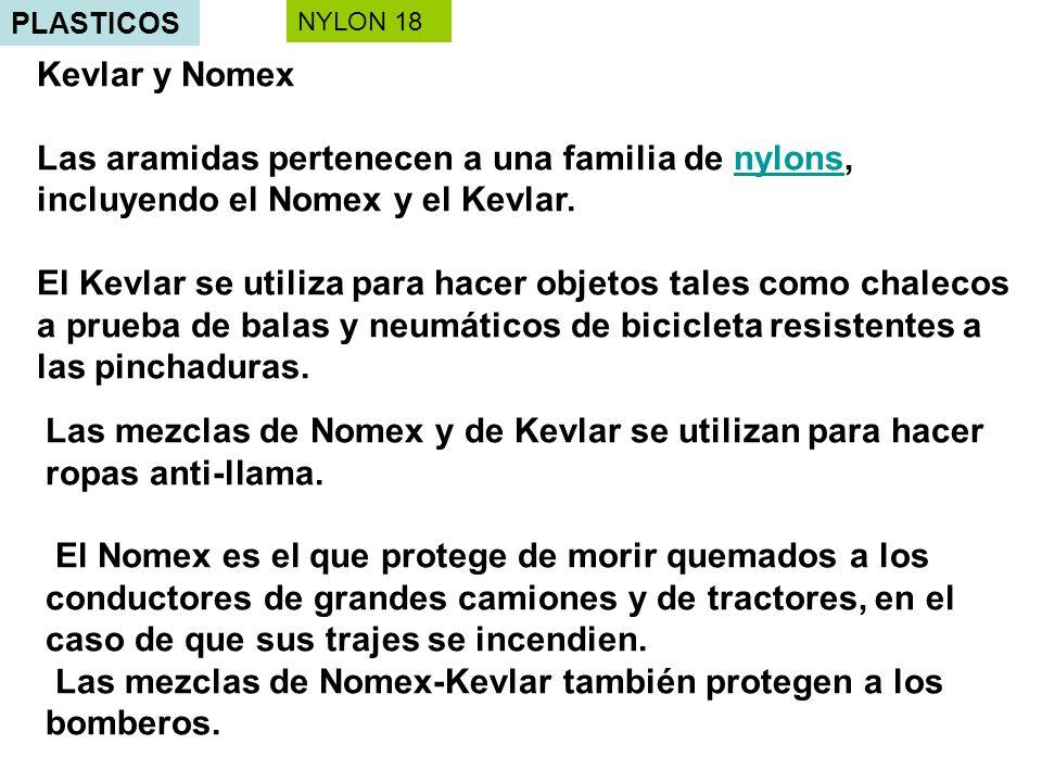 Las mezclas de Nomex-Kevlar también protegen a los bomberos.