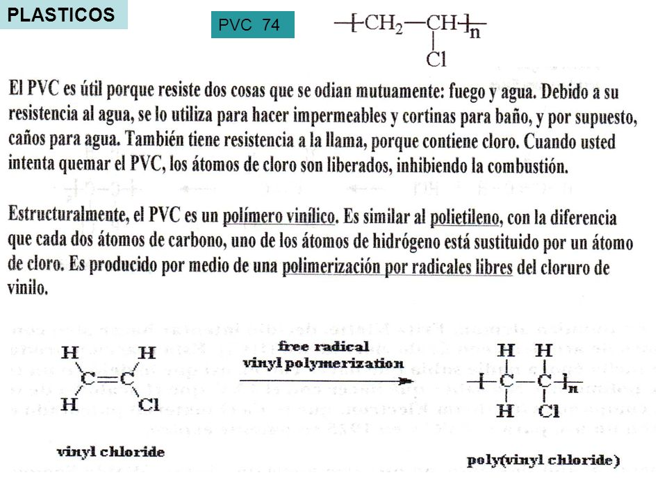 PLASTICOS PVC 74