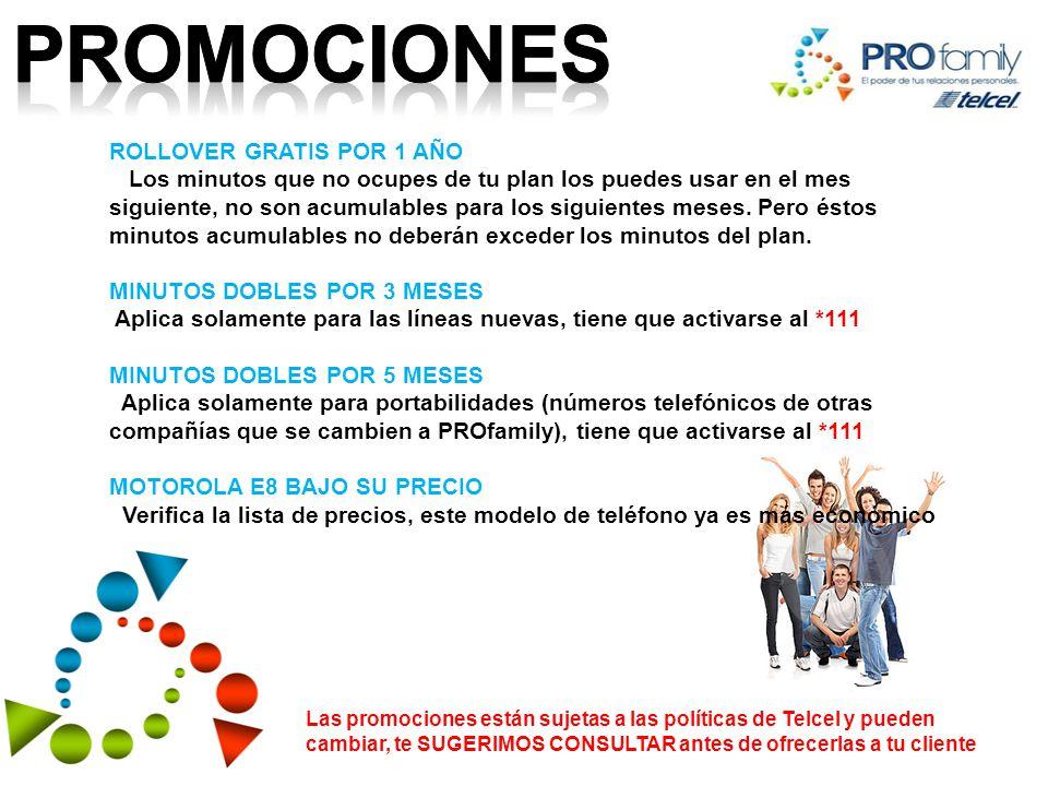 promociones ROLLOVER GRATIS POR 1 AÑO