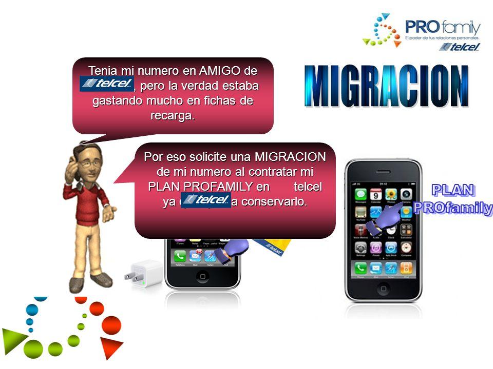 MIGRACION PLAN PROfamily